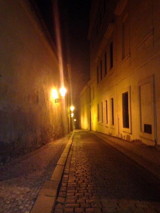 Prague-evening stroll