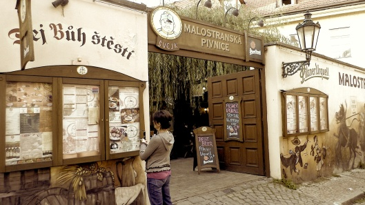 Tourist Czech restaurant