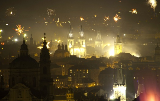 Prague-fireworks